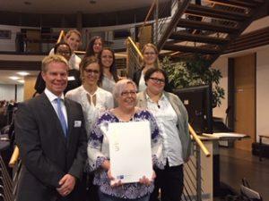 Fachwirte im Gesundheits- und Sozialwesen – Urkundenübergabe in Reutlingen