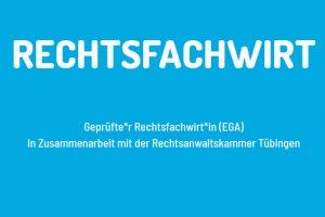 Rechtsfachwirt startet im Herbst 2019 in Reutlingen