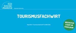 Neu in Reutlingen: Tourismusfachwirt ab Frühjahr 2020